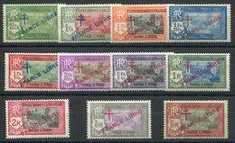 RC 15305 INDE FR N° 160 / 170 SURCHARGE FRANCE LIBRE SÉRIE COMPLÈTE COTE 52€ NEUF * TB - Unused Stamps
