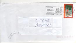"""Timbre , Stamp Yvert N° 3243 """" Vive Les Vacances """" Sur Lettre , Cover , Mail Du 16/06/1999 - France"""