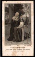 CHROMO  L'EDUCATION SAINTE SOUVENEZ-VOUS DANS VOS PRIERES... - Devotion Images