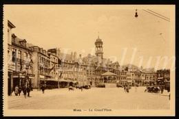 Postcard / CPA / Mons / Bergen / La Grand Place / Edit. F. Redouté / Unused / 2 Scans - Mons