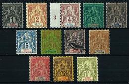 Costa De Marfil (Francesa) Nº 1/13 Falta Nº 10 - Ivory Coast (1892-1944)