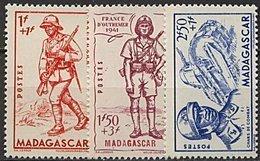 Madagascar, N° 226 à N° 228** Y Et T - Unused Stamps