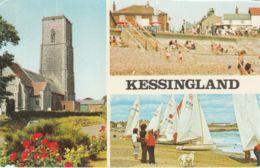 Postcard - Kessingland Three Views - Card No.3ea43 Posted 26th Aug 1994  Very Good - Sin Clasificación