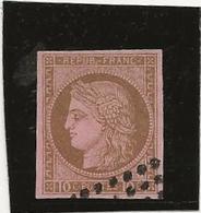 TIMBRES COLONIES FRANCAISES - N° 18  OBLITERE TB -ANNEE 1872-77 - COTE : 15 € - Cérès