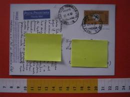 PC.4 ITALIA CARTOLINA POSTALE - 1999 PROVA PROMO CARD POSTA PRIORITARIA £ 1200 DA CASELLE TORINESE TORINO 2000 - 6. 1946-.. Repubblica