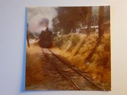 Locomotive Mallet 414 Arrive à Lamastre (07) - Trains