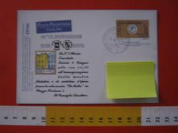 PC.4 ITALIA CARTOLINA POSTALE - 1999 PROVA CARD POSTA PRIORITARIA £ 1200 REPIQUAGE Stampa 40 ANNI PHIL DOMODOSSOLA 2002 - 6. 1946-.. Repubblica