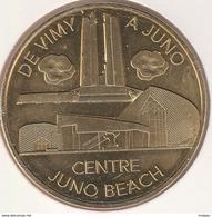 MONNAIE DE PARIS 14 COURSEULLES-SUR-MER - Centre Juno Beach - Vimy To Juno 2017 - 2017