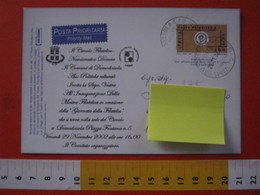 PC.4 ITALIA CARTOLINA POSTALE - 1999 PROVA CARD POSTA PRIORITARIA £ 1200 REPIQUAGE Stampa DOMODOSSOLA 2002 GIORNATA PHIL - 6. 1946-.. Repubblica