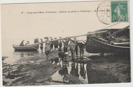 VR : CALVADOS : Luc-sur-Mer : Bateau De Pêche à L'échouage - Luc Sur Mer