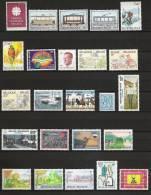Jaar 1983 Compleet ** Postfris 34 Waarden - Belgien