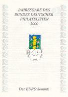 Jahresgabe Des BDPh 2000, Jg.22, Mit BRD 2113, Europa CEPT: Kinder - [7] Federal Republic