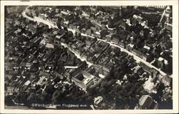 Cp Offenburg Im Schwarzwald Ortenaukreis, Fliegeraufnahme, Blick Auf Stadt Und Kirche - Altri