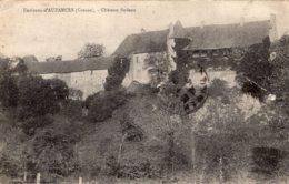 5036 Cpa 23 Environs D'Auzances - Château Bodeau - Auzances