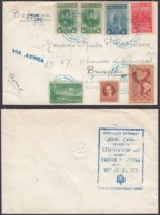 Cuba 1948 - Lettre Par Avion Vers Bruxelles-Belgique De La Habana................ (DD) DC6208 - Briefe U. Dokumente