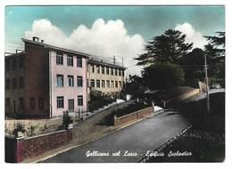 2498 - GALLICANO NEL LAZIO EDIFICIO SCOLASTICO ROMA 1967 - Italia