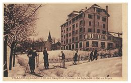 38 Villard De Lans,Splendid -Hôtel En Hiver - Villard-de-Lans