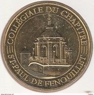 MONNAIE DE PARIS 66 SAINT-PAUL-DE-FENOUILLET Collégiale Du Chapitre 2017 - 2017