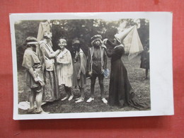 RPPC  Different Costumes    Ref 3839 - Postcards