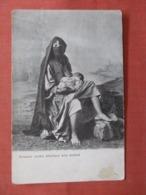Female Arabe & Infant Egypt   Ref 3839 - Afrika