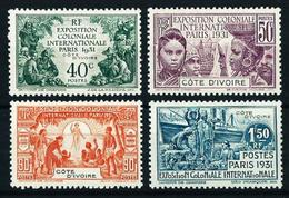 Costa De Marfil (Francesa) Nº 84/7* Cat.28€ - Ivory Coast (1892-1944)