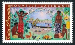 NOUV.-CALEDONIE 2003 - Yv. 907 **   Faciale= 1,13 EUR - Art. Tableau De Tatin D'Avesnières  ..Réf.NCE25551 - New Caledonia
