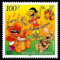 NOUV.-CALEDONIE 2003 - Yv. 909 **   Faciale= 0,84 EUR - Souhaits: Joyeux Noël Et Bonne Année  ..Réf.NCE25553 - New Caledonia