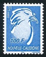 NOUV.-CALEDONIE 2004 - Yv. 911 **   Faciale= 0,84 EUR - Le Cagou 100f Bleu  ..Réf.NCE25555 - New Caledonia
