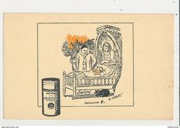 PUBLICITE NUTROMALT ALIMENTATION DES NOURRISSONS CPA DE CARNET BON ETAT - Werbepostkarten