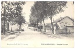 CPA 21 - Environs De Nuits-St-Georges - COMBLANCHIEN (Côte D'Or) -  Rue De Beaune - TBE - France