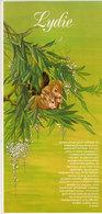 LYDIE -  Illustration De Catherine Schmid  - Ecureuils (2192 ASO) - Firstnames