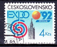 Tchécoslovaquie 1992 Mi 3112 (Yv 2911), Obliteré - Tsjechoslowakije