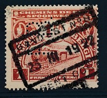 "TR 115 - ""GAND-EST Nr 8 - GENT-OOST"" - PERFIN - (ref. 30.225) - Bahnwesen"