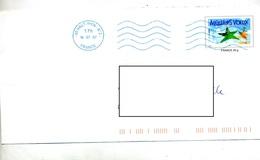 Pap  Voeux Flamme Double Muette Haut Rhin 2 - Biglietto Postale