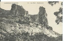 LE TEIL      (    ARDÈCHE  )   ROCHEMAURE - Le Teil