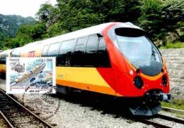 Carte Maximum 2011 - Centenaire Des Chemins De Fer De Provence. Train Des Pignes Franchissant Un Pont. - Maximum Cards