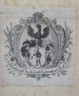 Ex-libris Héraldique XVIIIème - Suisse - CHRIST. GOTTL. SCHWARZ - Ex-libris