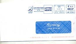 Lettre Flamme Ema Lesquin Lycee Berger Gaston - Storia Postale