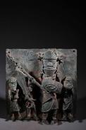 Art Africain Plaque En Bronze Du Royaume D'Ifé - African Art