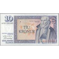 TWN - ICELAND 48a4 - 10 Kronur L.1961 (1981) Prefix A 06 - Signatures: Nordal & Hjartarson UNC - IJsland