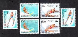 Giordania  Jordan - 1974. Sci Nautico. Water Skiing. Complete MNH Series - Sci Nautico