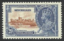 Seychelles, 20 C, 1935, Sc # 120, MH. - Seychelles (...-1976)
