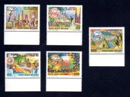 Francobolli Vaticano 1988 - 5 Valori Nuovi - Ungebraucht