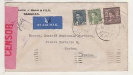 Enveloppe D' IRAQ    Vers L L'Italie  1939   Censure - Italia