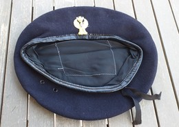 Basco Blu Vintage P.S. Anni '80 Originale Taglia 59 Ottimo Stato - Polizia