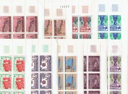 VIET NAM SUD - FEUILLES DE 25 TP XX COINS DATES - N°273/274 - 279/285 - 1965 - Vietnam