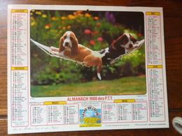 Calendrier Almanach 1988 Des P.T.T.- Chiots - L'intrépide - Calendriers