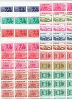 VIET NAM SUD - BLOCS DE 15 TP - XX - N° 134/137 - 153/156 - 169/172 - 181/183 - 1960 - Vietnam