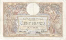 Billet 100 F L. O. Merson Du 13-4-1939 FAY 25.46 Alph. Q.66220 - 1871-1952 Antichi Franchi Circolanti Nel XX Secolo
