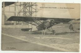 Belle Cpa  AVIATION   MILITAIRE.   Avion Gourdou.Lesseur - 1914-1918: 1ère Guerre